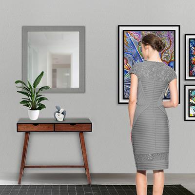 Specchio bagno: come sceglierlo e a quale altezza posizionarlo